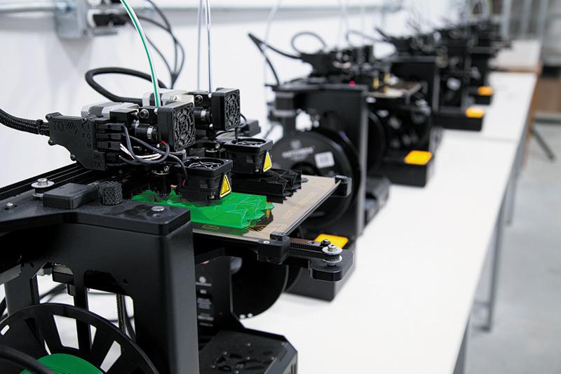 3D printer farm