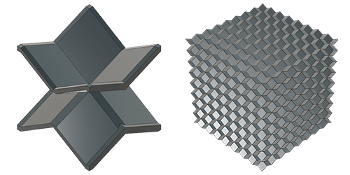 EB cell and tessellation