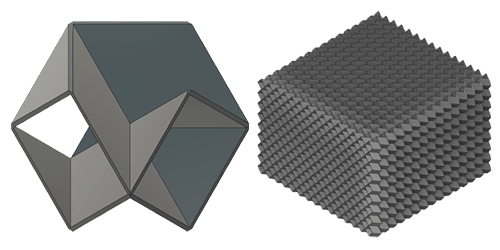 MO cell and tessellation