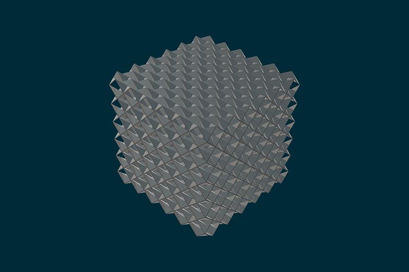 computation design of metacore [MO] tesselated