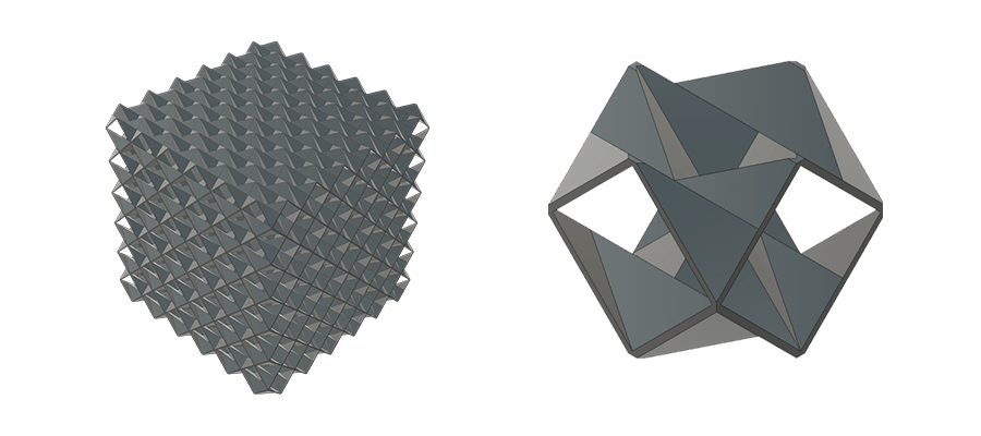 example metacore [EB] unit cell and tessellation